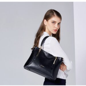 head brand bag female new fashion famous brand leather hand-held authentic atmosphere middle-aged big bag- STX60 (5) 1